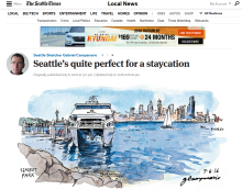 Thumbnail of Seattle Times Sketcher story