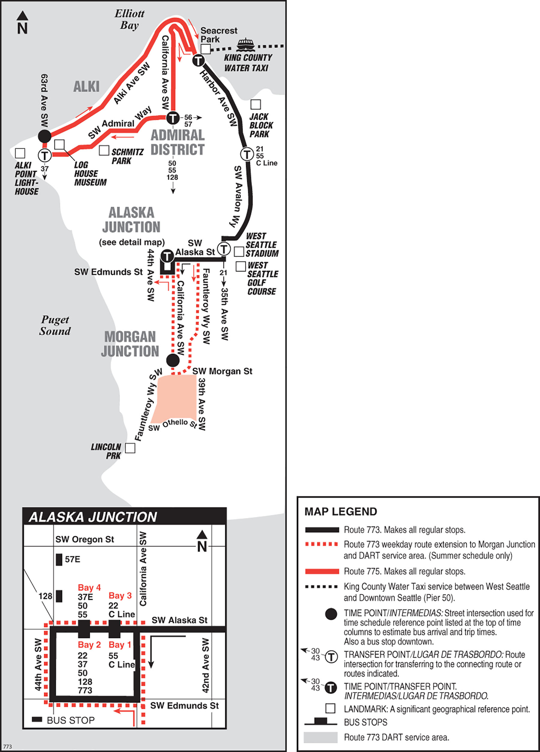 Alki Beach Seattle Map.Water Taxi Shuttles Making West Seattle More Accessible
