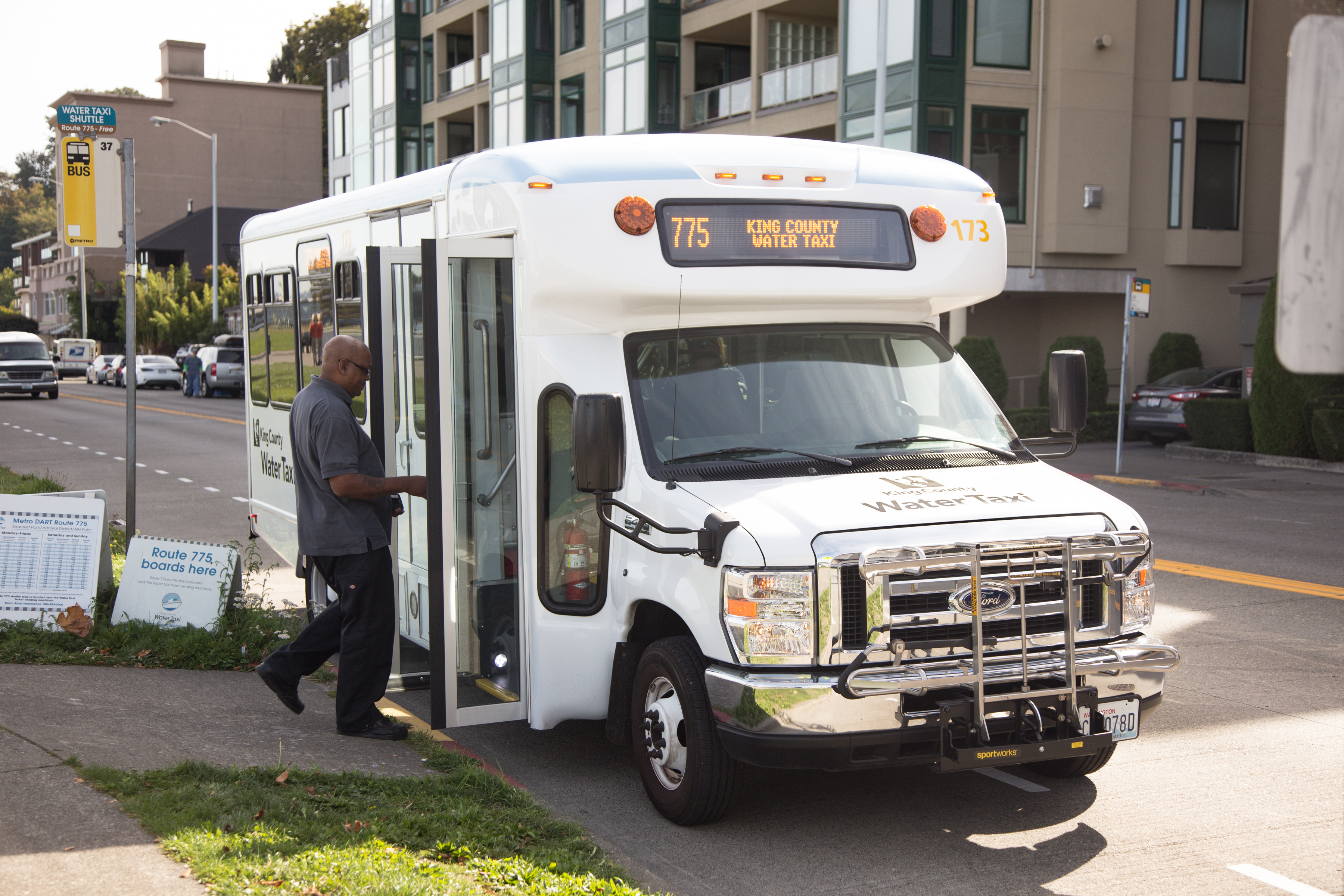Water Taxi Shuttles – making West Seattle more accessible