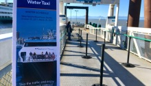 King County Water Taxi begins operating on its Winter Schedule on Monday, Oct. 30, 2017